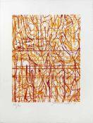 Nitsch Hermanngeb. 1938Ohne Titel2009Farblithographie, handsigniert, Ed. 17/6045 x 30 cm