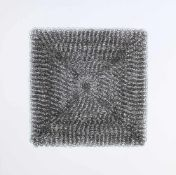 "Krenn Andrea Mariageb. 1974Smiley2015Siebdruck, aus: ""Homage to the black square"", Ed. 26/4050 x"