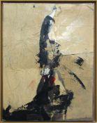 Mairinger Petergeb. 1950Woman1990Acryl und Collage auf Leinwand100 x 80 cm