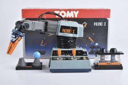 TOMY Robo I, 70er Jahre, Made in Japan, Kunststoff, H 19 cm, BA, Z 1-2, Okt.