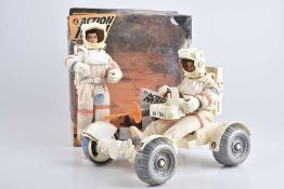 HASBRO Action Man Mission Spatiale, weiß, 2 Action Figuren, 2 Helme, Z 1, Okt. stärkere Lagerspuren