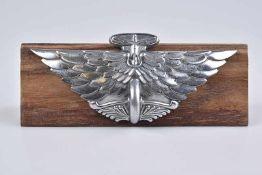 Emblem/ Kühlerfigur/ Car Mascot Austin, 1930, Metall, verchromt, H 6 cm, Verchromung mit