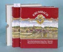"""Kreuzer, G. u.a. """"Krumbach - Vorderösterreichischer Markt,...""""""""...Bayerisch-Schwäbische Stadt"""", 2"""