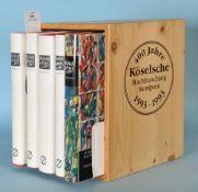 """Weitnauer, Alfred """"Allgäuer Chronik"""", 5 BändeTextbände 1-3, Bilder u. Dokumente, Register, zahlr.,"""