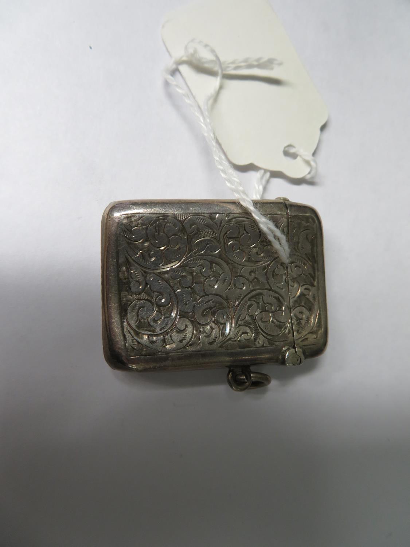 Lot 56 - Silver vesta