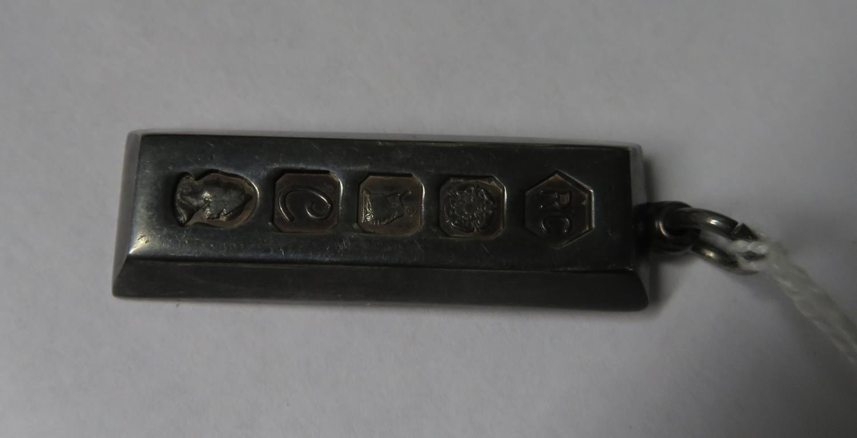 Lot 50 - 32gram silver ingot