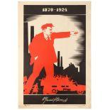 Set 3 Propaganda Posters USSR Lenin Comminism Electrification