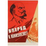 Set 3 Propaganda Posters USSR Lenin Books Ideas