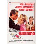 Cinema Poster Winning Car Racing Indianapolis 500 Paul Newman