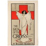 Advertising Poster The Sign of the Cross Theatre Play London Wilson Barrett
