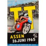 Sport Poster TT Assen Grand Prix Motocycle Racing