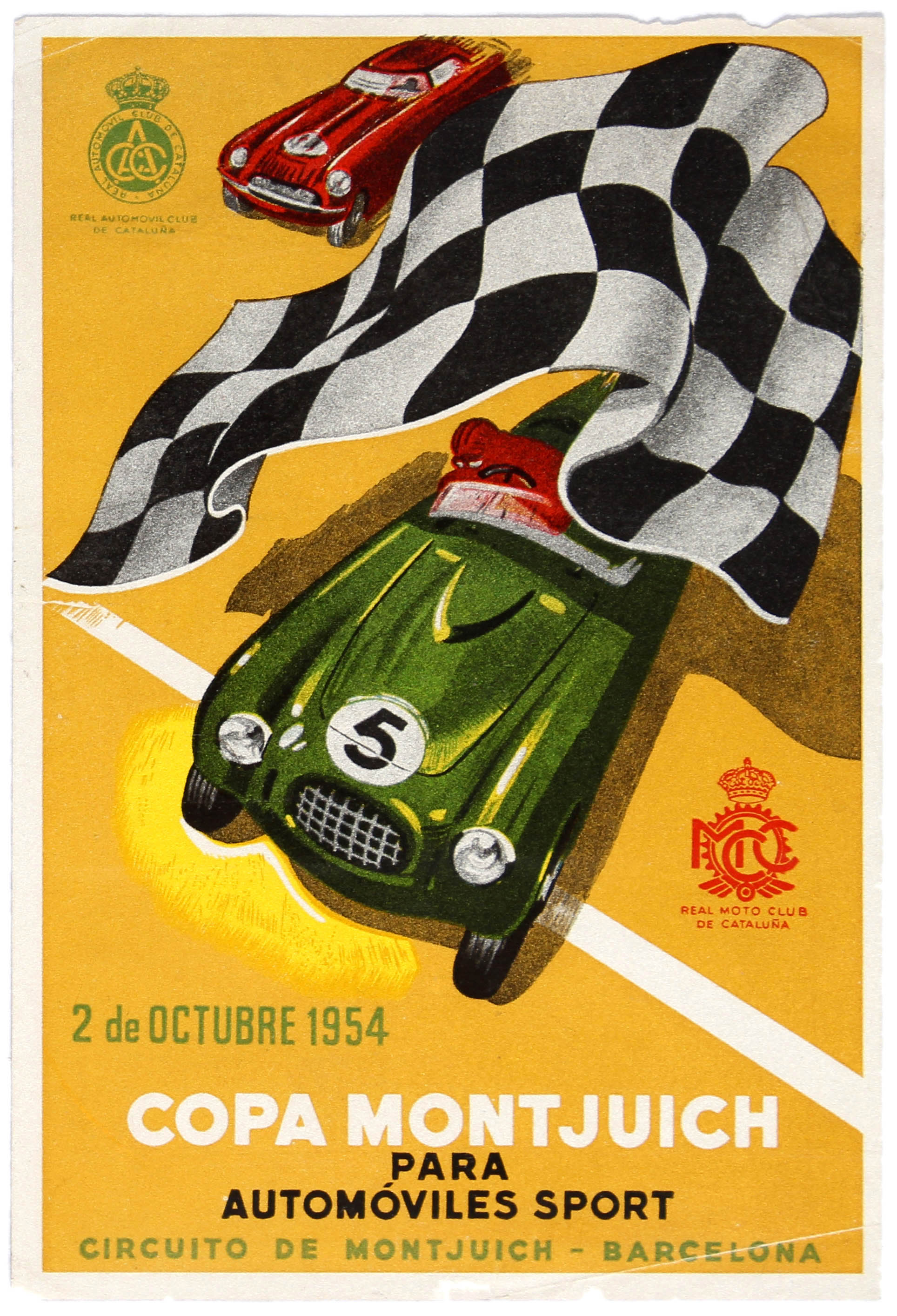 Sport Copa Montjuich Sports Car Racing Spain