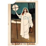 Advertising Poster The Sign of the Cross Theatre Play London