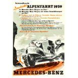 Internationale Deutsche Alpenfahrt 1939 - Mercedes Benz
