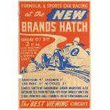 Sport Poster Formula 3 Sports Car Racing Brands Hatch