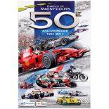 Sport Poster Magny-Cours Circuit Formula 1 Ferrari