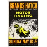 Sport Poster Brands Hatch Motor Racing Cooper