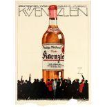 Advertising Poster Kuenzlen German Wine Ludwig Hohlwein