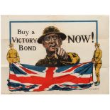 Propaganda Poster Buy a Victory Bond Now UK Charles WWI