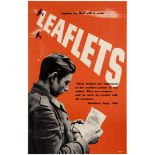 War Poster WWII Leaflets Sapping The Nazi Will To Resist