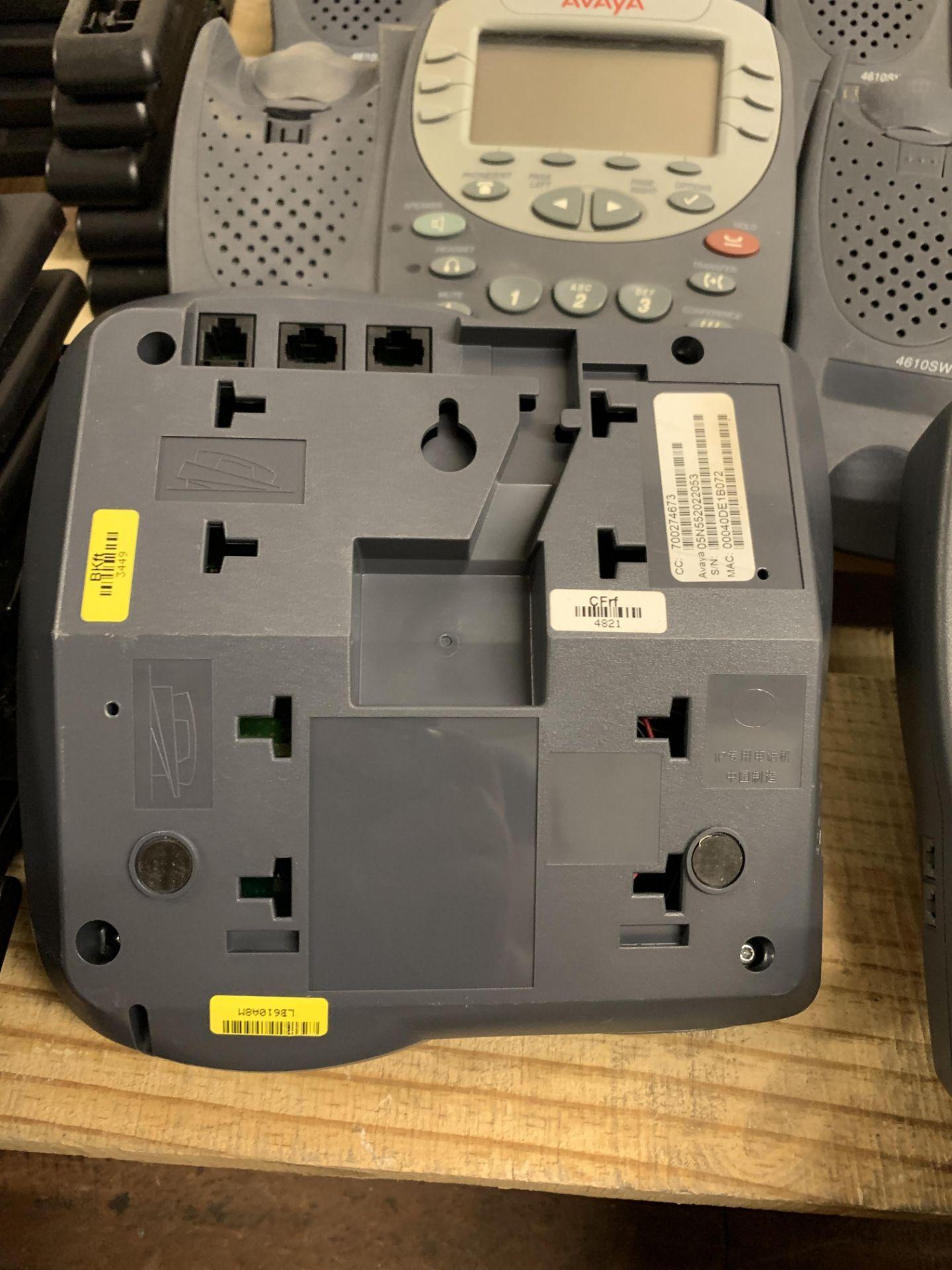 Lot 150 - 10 AVAYA PHONE HANDSETS: 9x MODEL 4610SW IP and 1x 4602 SW IP