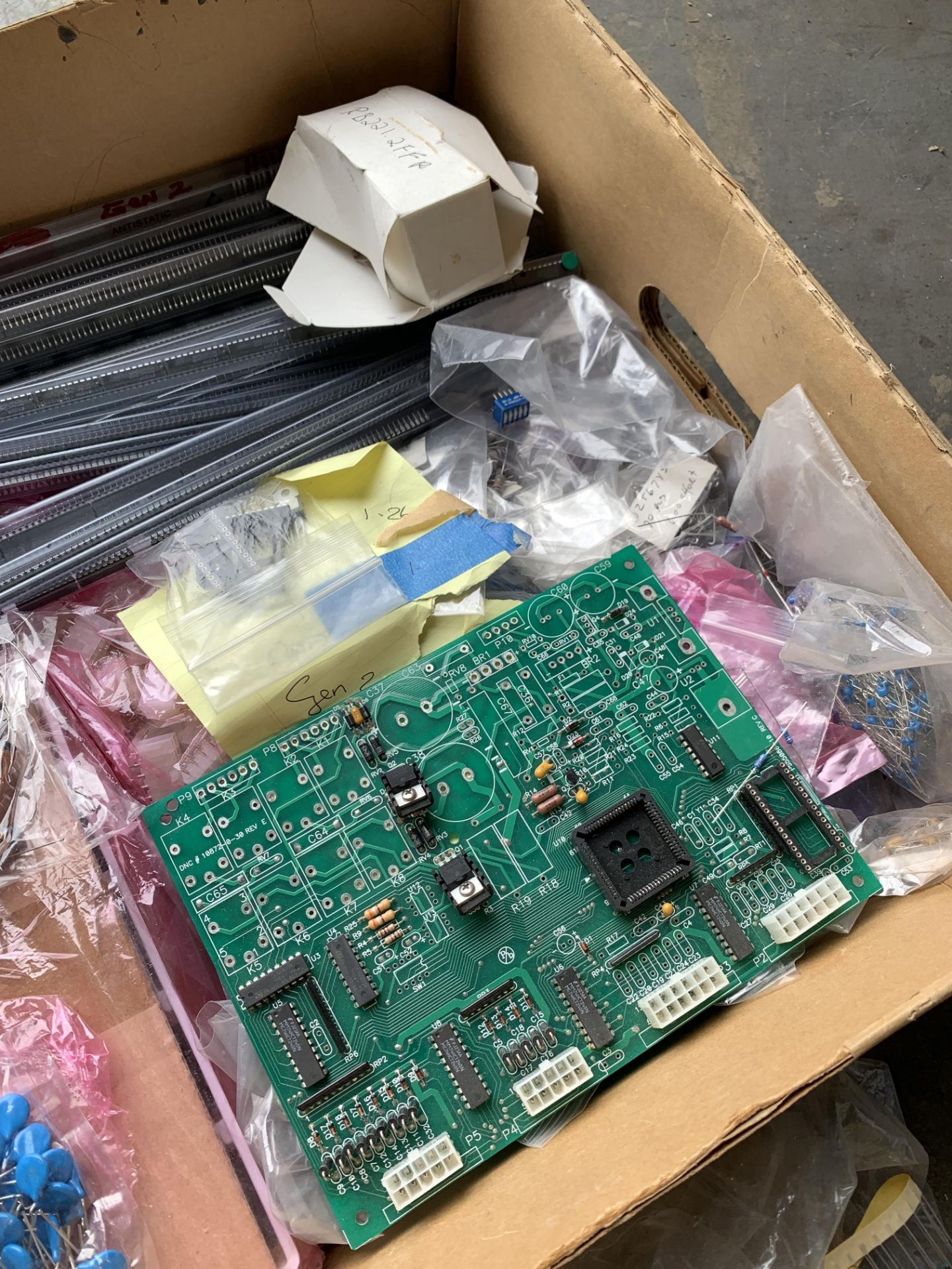 Lot 209 - Mixed lot of Boards, Components and Semi Conductors for Boards, Ship from or pick up in Los Angeles