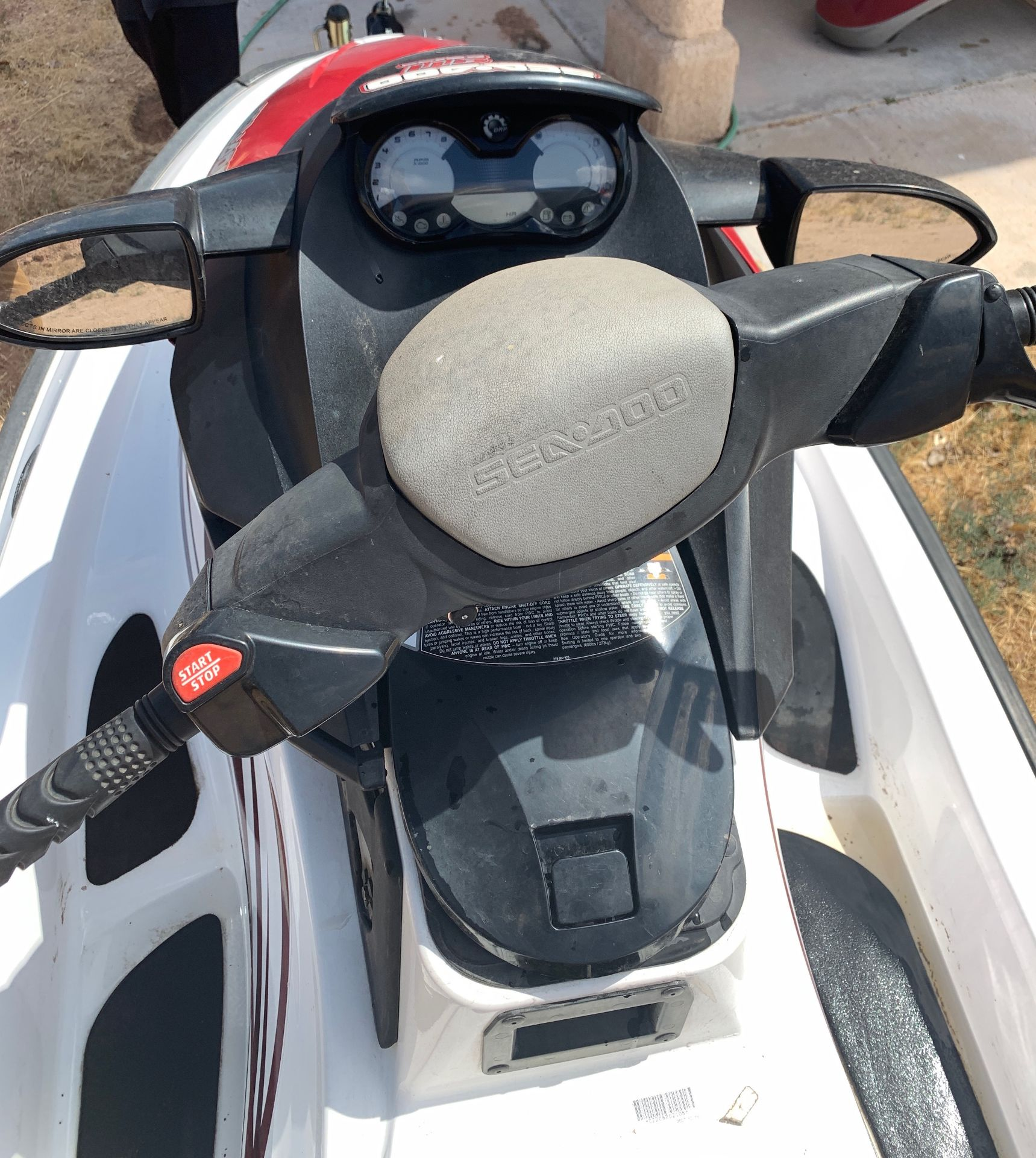 Lot 1A - 2008 Sea-Doo GTI SE Rotax 4-Tec Watercraft & Trailer Included NEW SEAT & BATTERY
