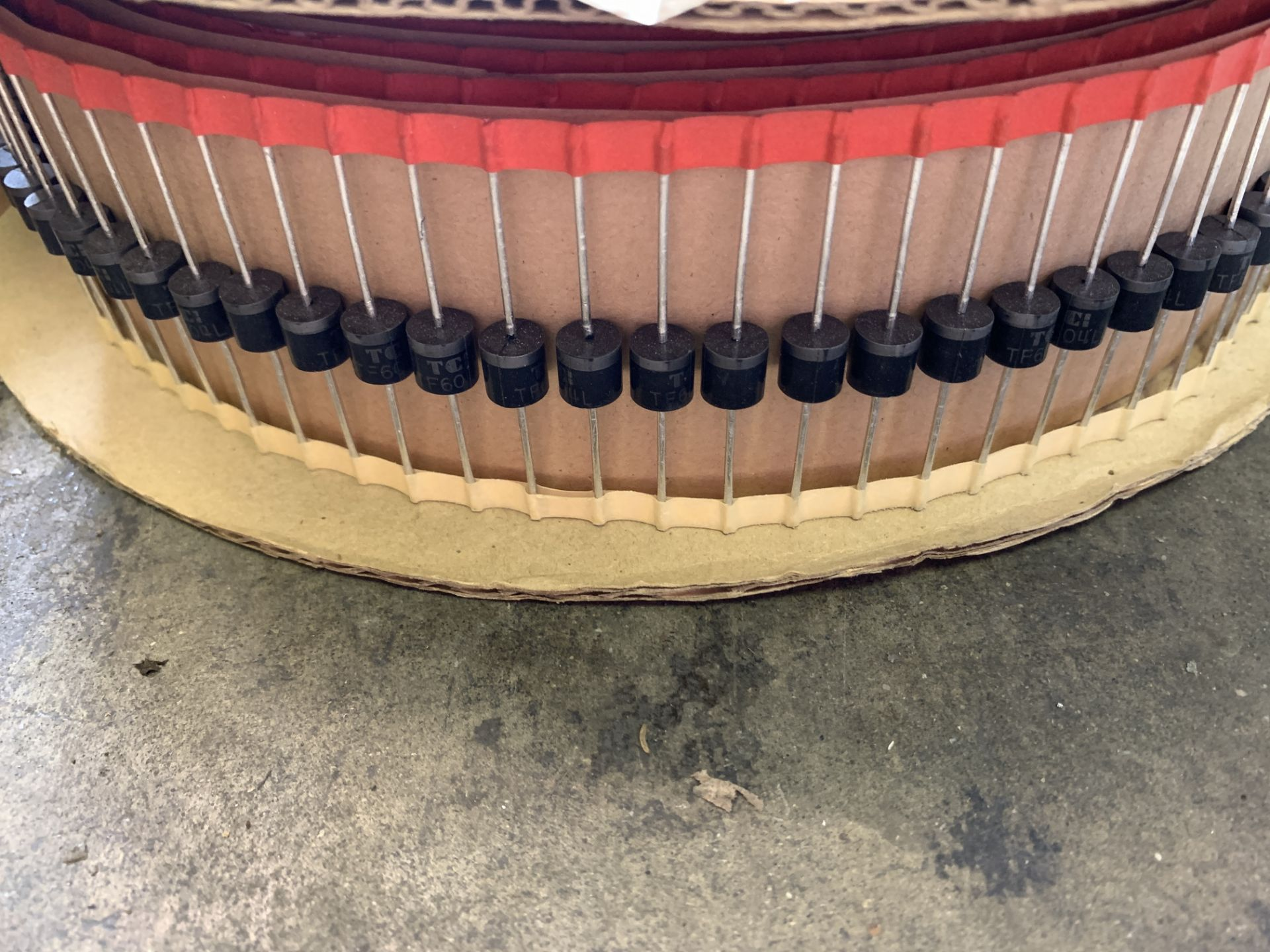 Lot 207 - Components for Boards - Taitron and FCITaitron TF604L-T6-T etc., Ship from/pick up in Los Angeles