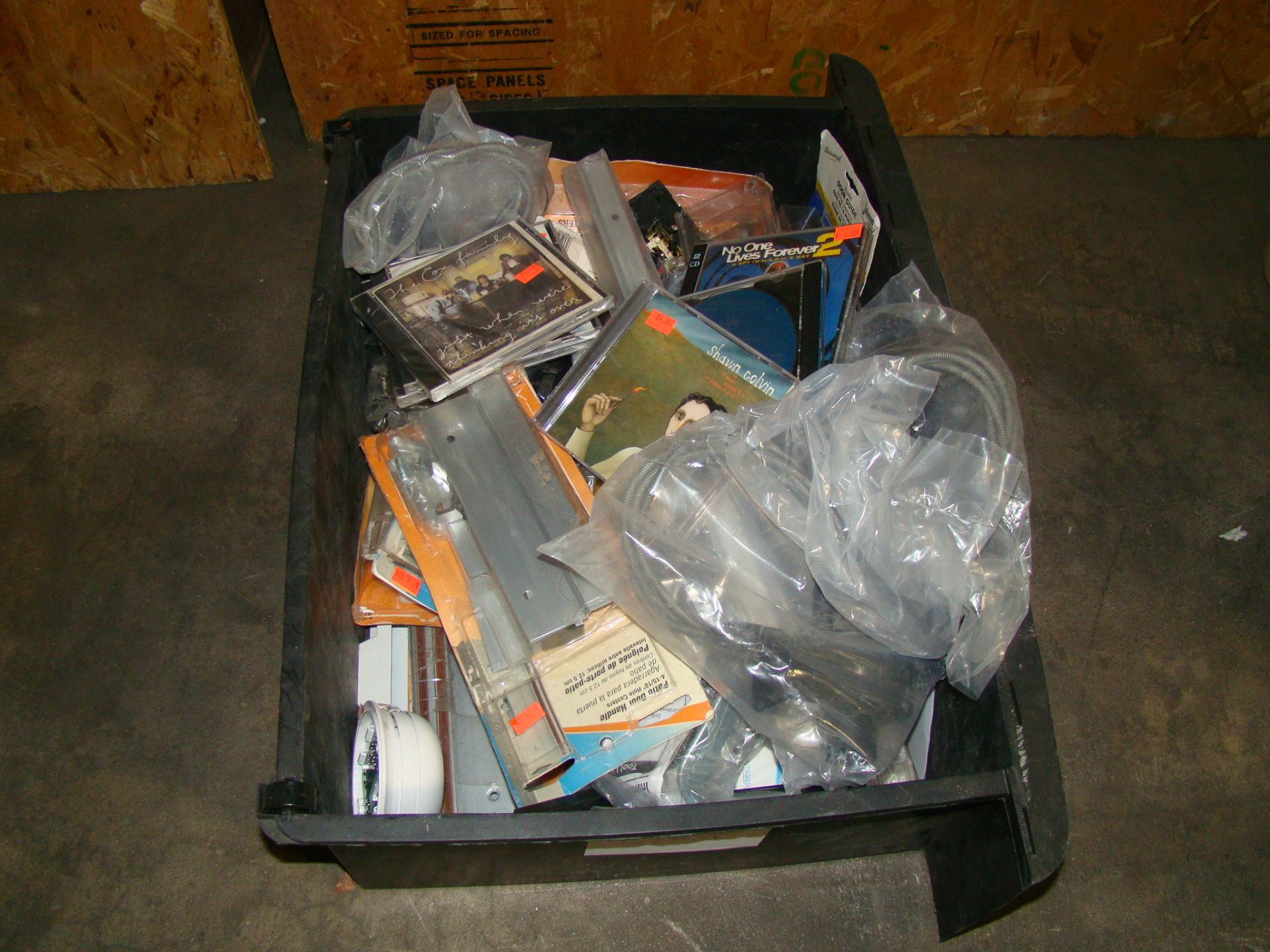 Lot 48 - Drawer of misc-cds, hardware