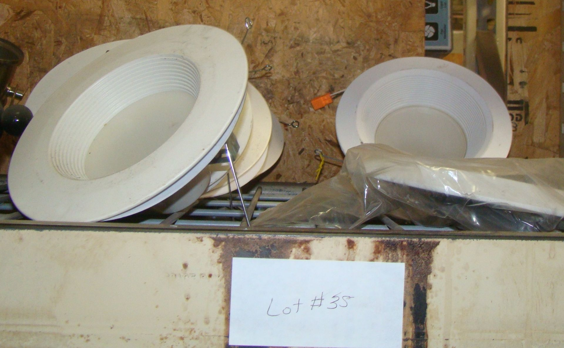 "Lot 35 - Lot of Recessed 6"" lights for remodel"