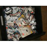 Lot 41 - Drawer of misc timers, switches