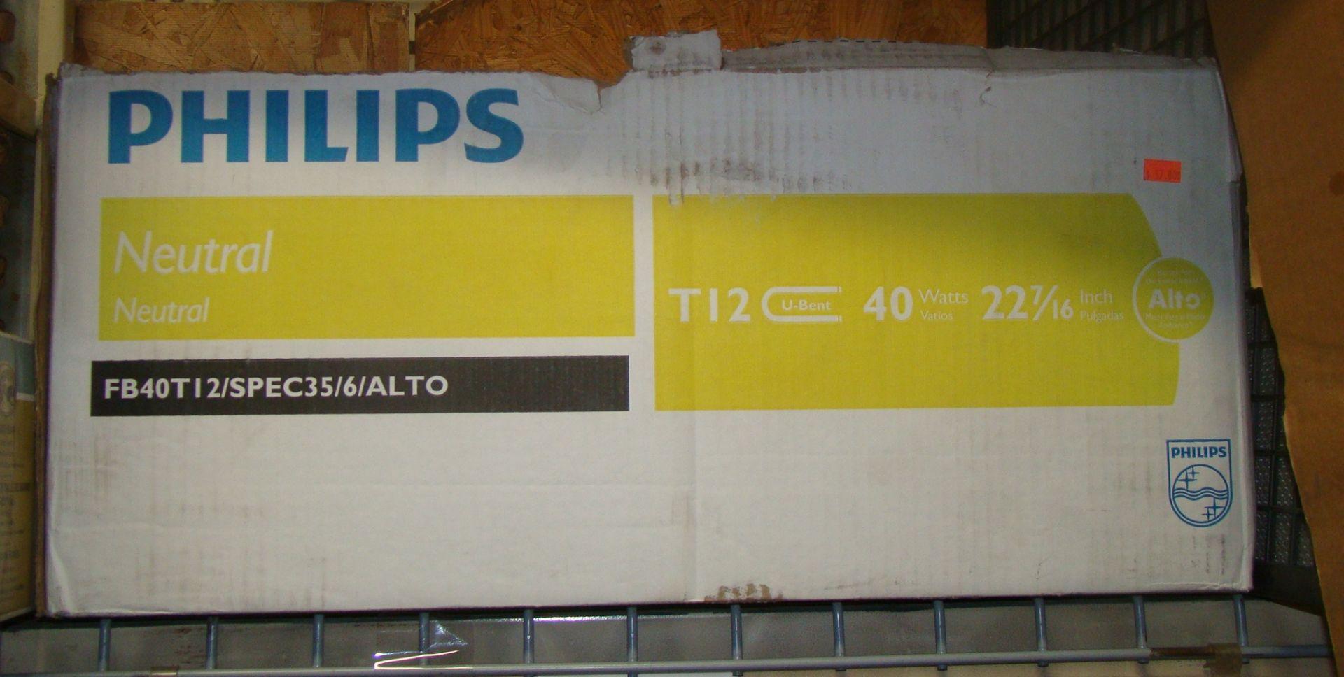 """Lot 20 - 11 Philips Neutral T-12u-bent 40 watt 22 7/16"""""""