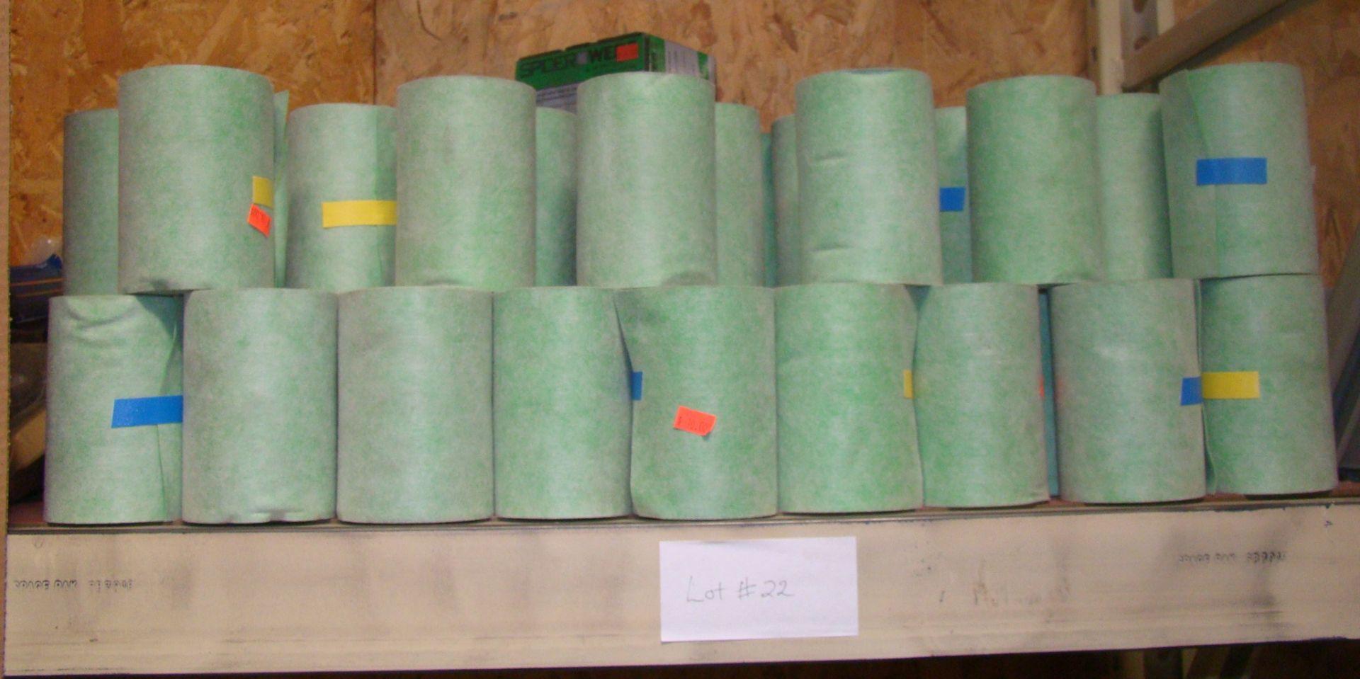 "Lot 22 - 114 Spider Web Seam Tape 4.5"" x 16.25'"