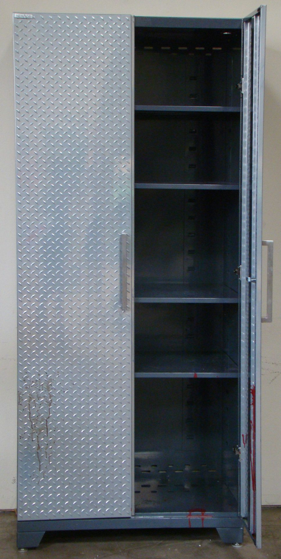 "Lot 18 - New Age Storage Cabinet 83""h x 36""w x 24""d"