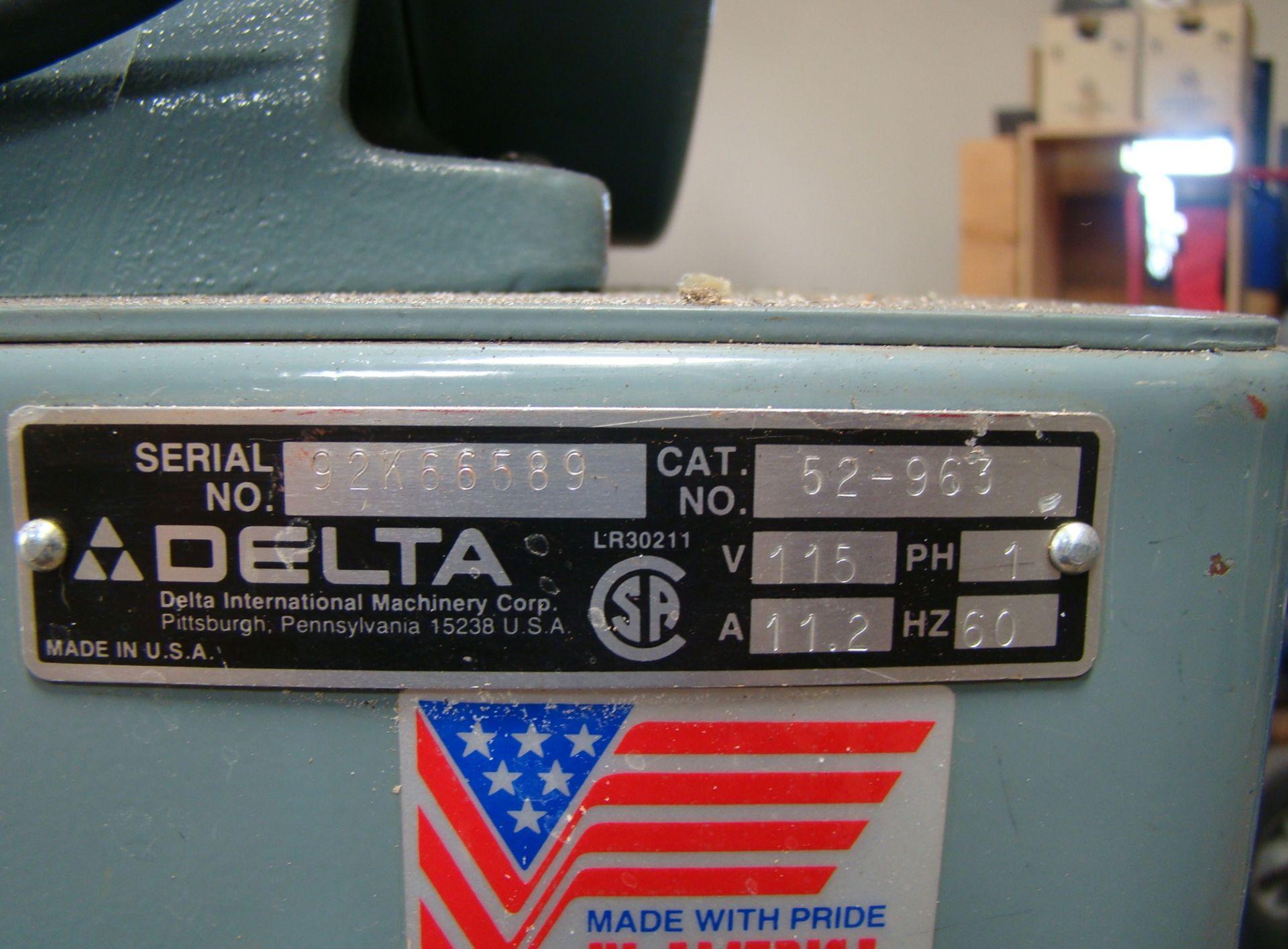 """Lot 25 - Delta 14"""" Band Saw 28-203, 3/4HP, 115 Volt 1PH"""