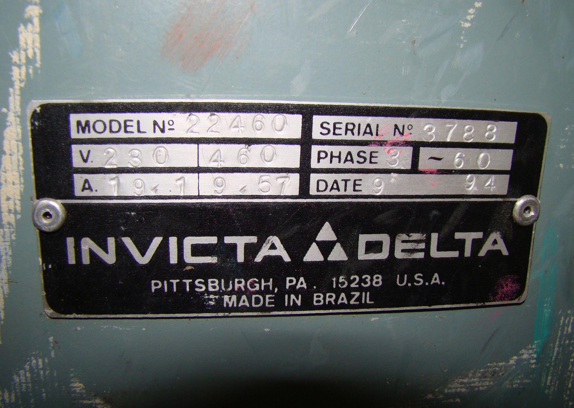 """Lot 42 - Delta RC51 20"""" Wood Planer Model #22-460 7-1/2"""" HP 230/460 Volt 3PH"""