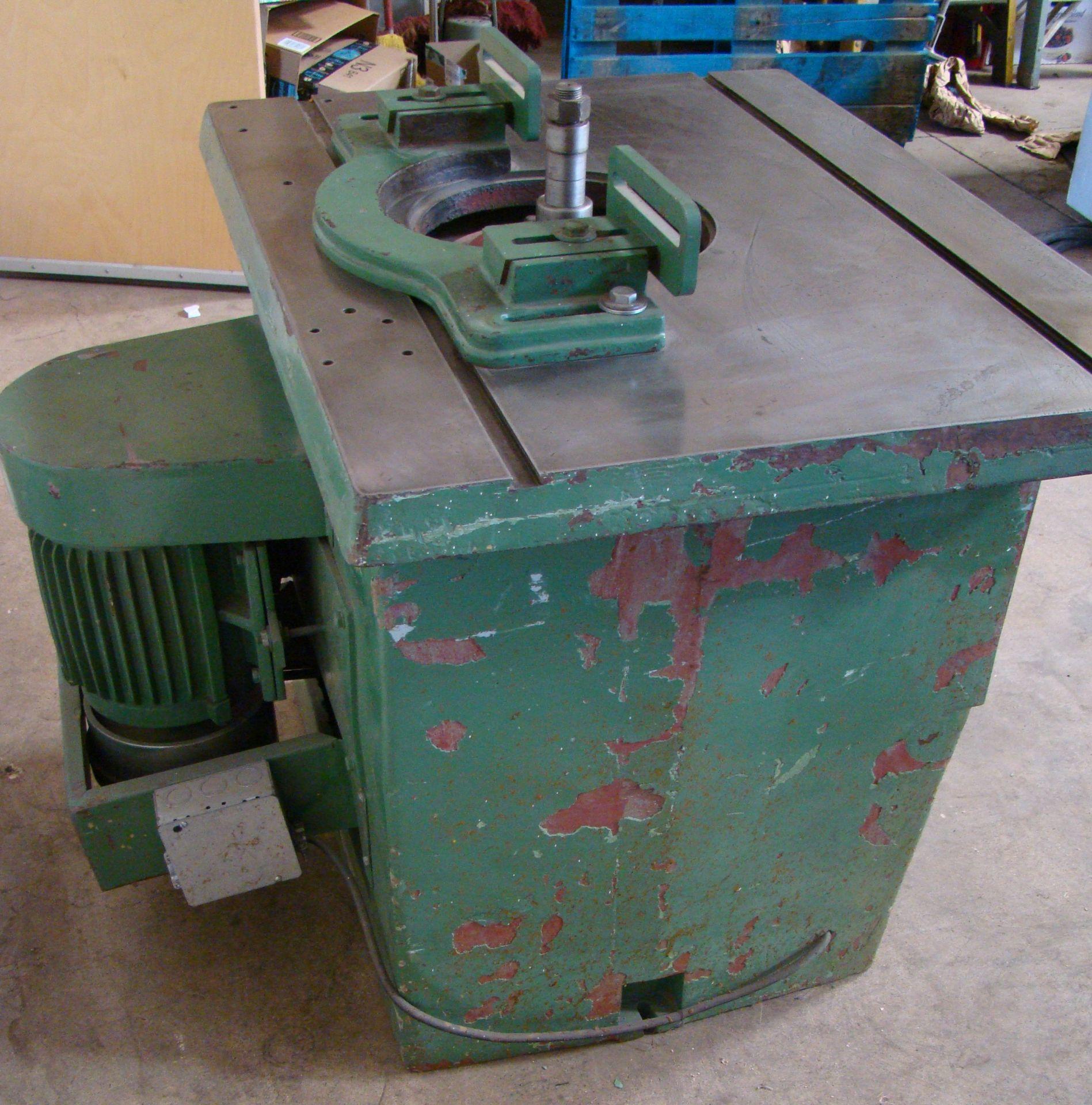 """Lot 31 - Wood Shaper Model NH-1; 1"""" Spindle 5 HP 220 Volt 3PH"""