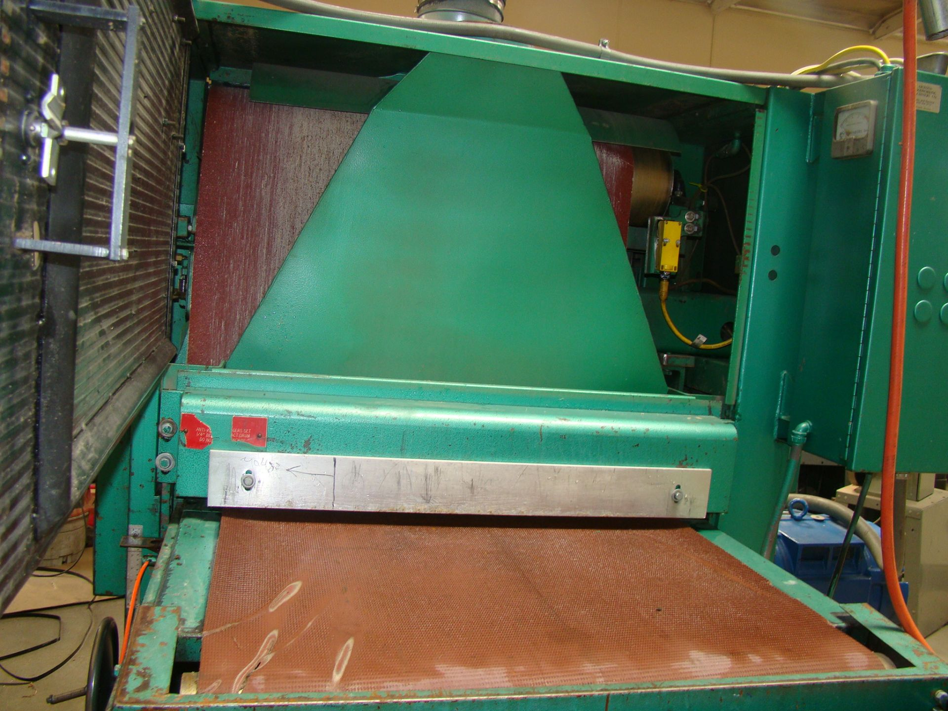 """Lot 1 - Time Saver Speedbelt 37"""" Sander Model 237-1A 40 HP 230/460 Volt 3PH"""
