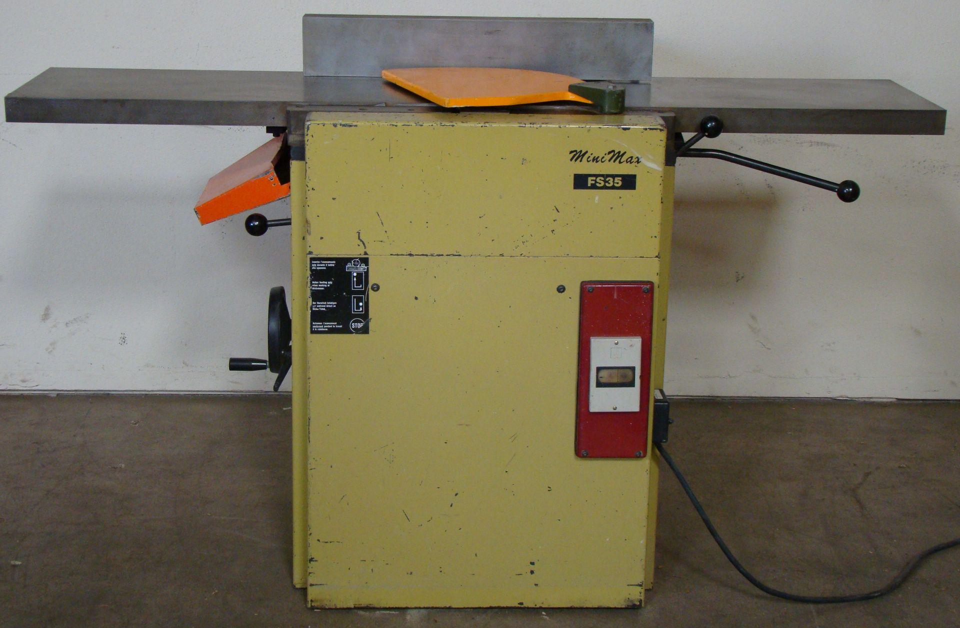 "Lot 30 - SCMI Mini-Max FS-35 14"" Joiner/Planer/Mortiser 3HP 230/460 Volt 3PH"