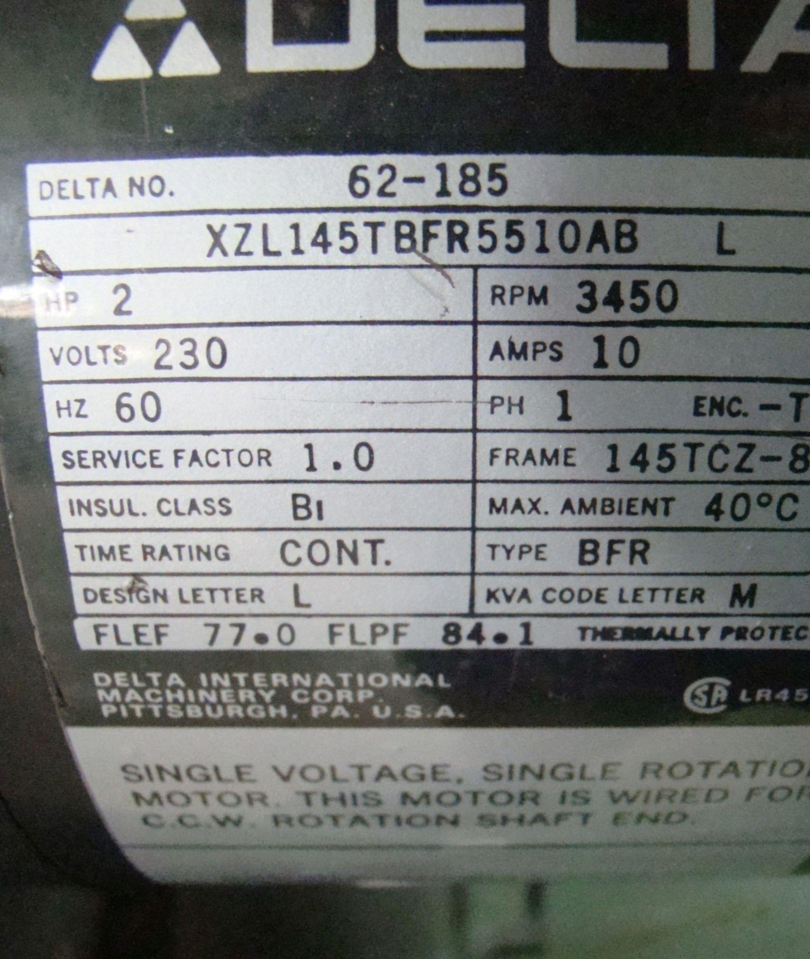 """Lot 43 - Delta 13"""" Wood Planer Model 22-660 2HP 220 Volt 1PH"""