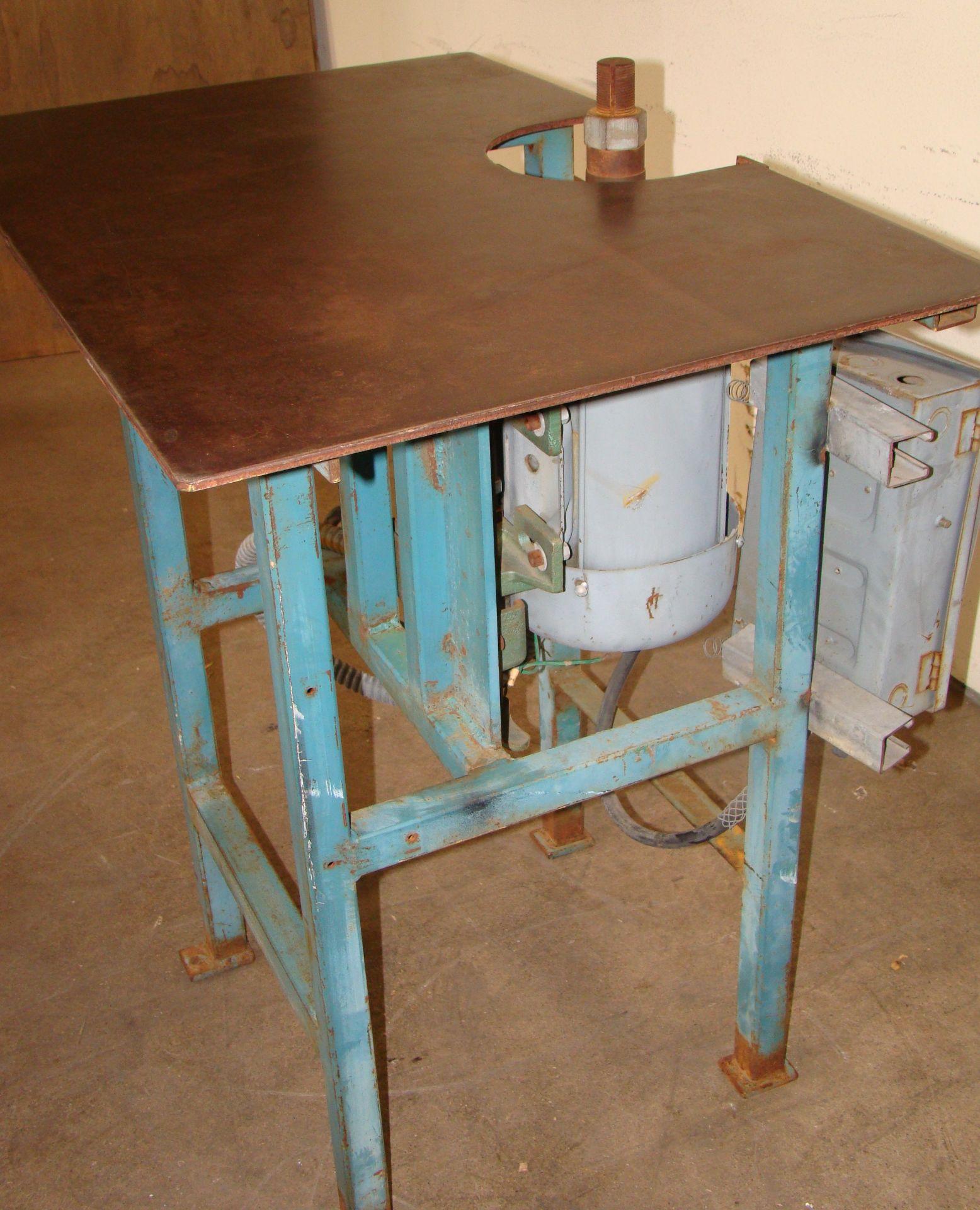 """Lot 44 - 1-1/4"""" Spindle Wood Shaper 1.5 HP 460 Volt 3PH"""