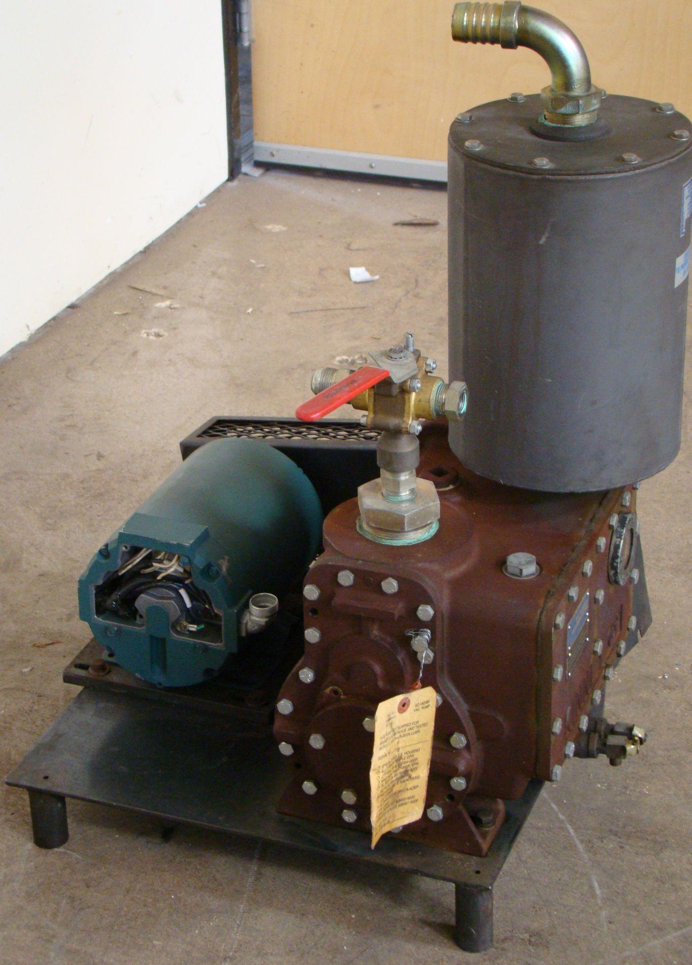 Lot 48 - Kinney High Vacuum Hydraulic Pump 1HP 230/460 Volt 3PH