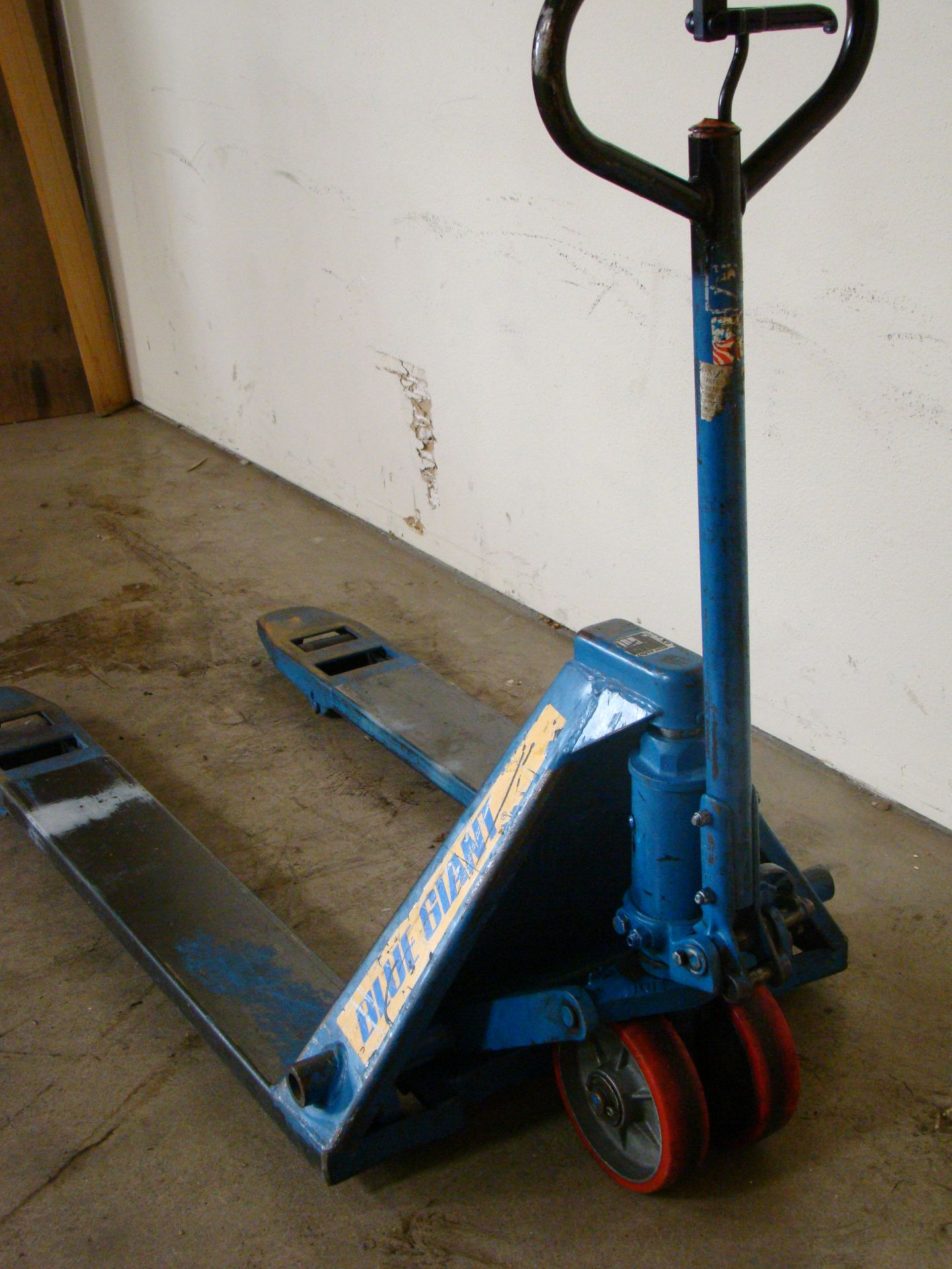 Lot 38 - Blue Giant Pallet Jack, Model T50