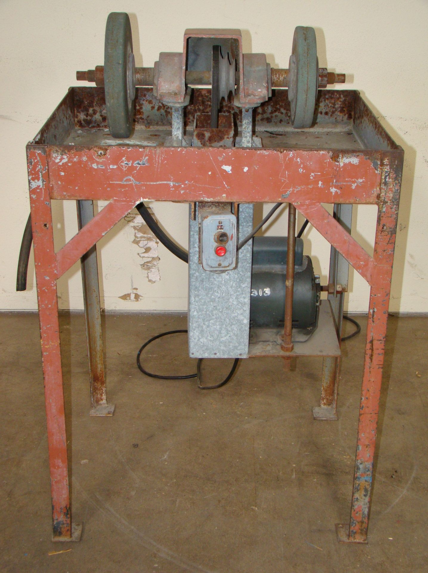 Lot 39 - Highland Park Wet/Dry Variable Speed Grinder (industrial), 1/2 HP 115/220 Volt 1PH