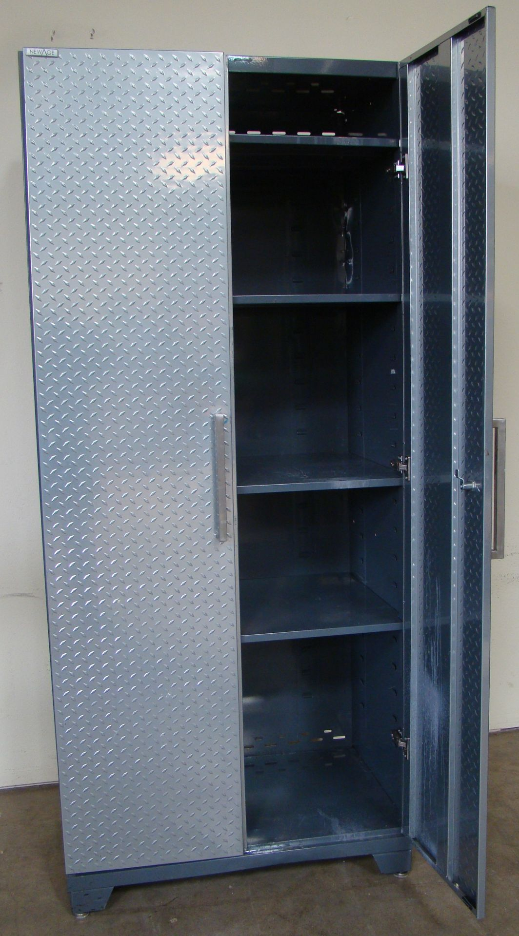 "Lot 19 - New Age Storage Cabinet 83""h x 36""w x 24""d"