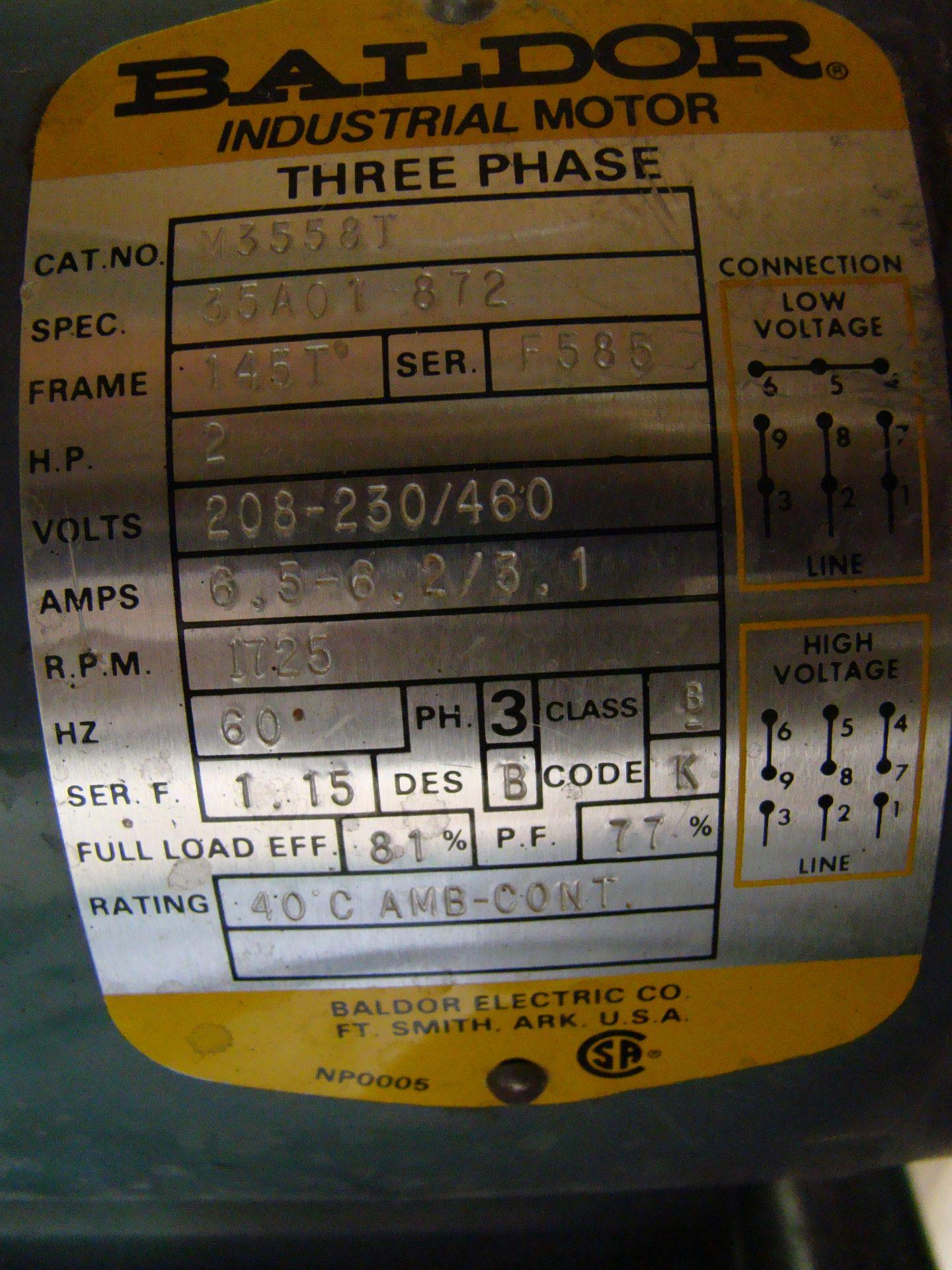 "Lot 17 - Ritter R-700 4"" x 132"" Edge Belt Sander 2 HP 230/460 Volt 3PH"