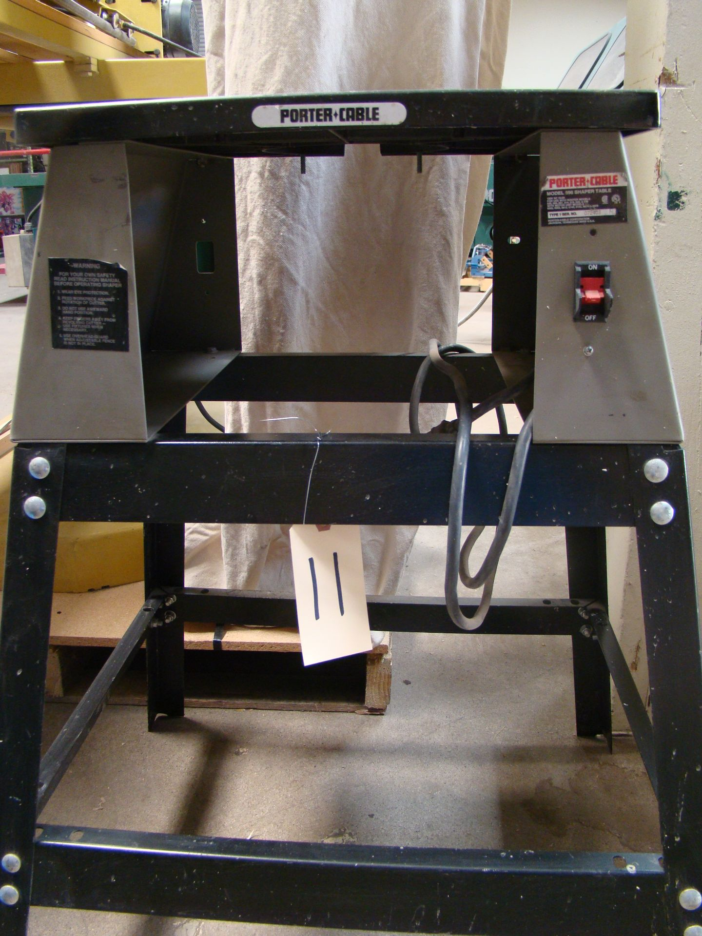 Lot 11 - Porter Cable #6960 Router/Shaper Table and Stand only