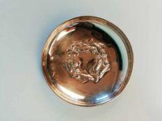 SilberschaleSilber 800, Fischdekor, 49,7g;