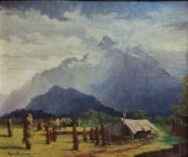 Egon Stoitzner (Wien 1903-1977 Wien)Salzburg, signiert Egon Stoitzner, dadiert 1934, Öl auf