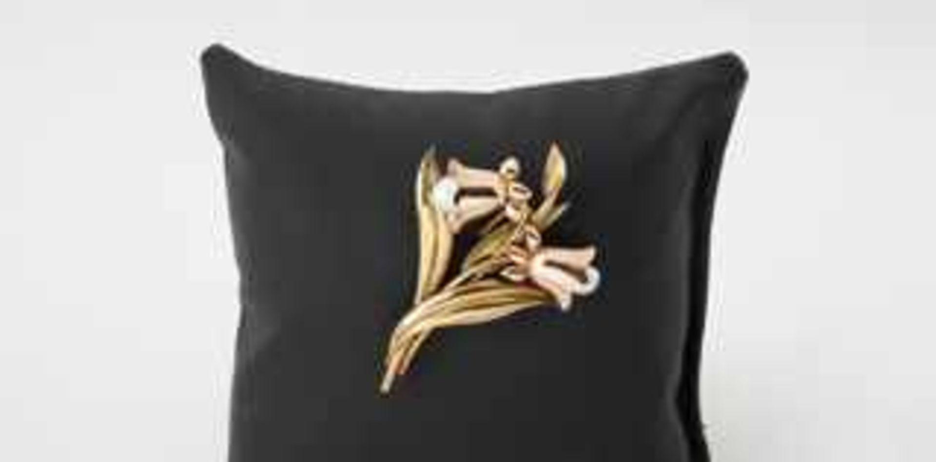 Brosche GlockenblumenGold/Roségold 585, Kulturperlen, plastisch gearbeitet, 10,5g, gebraucht